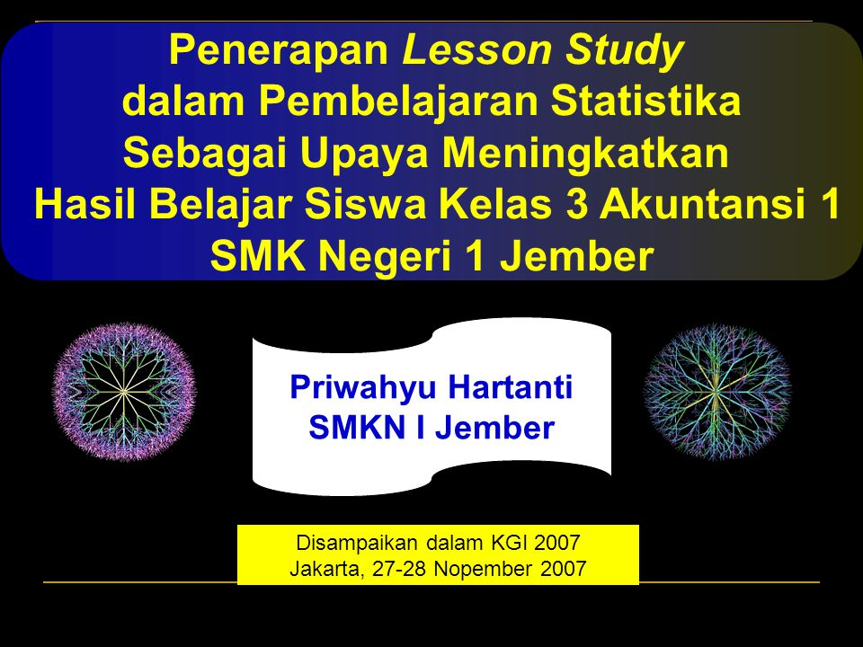 Penerapan Lesson Study