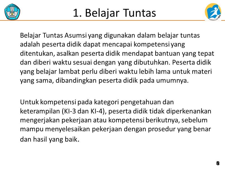 1. Belajar Tuntas