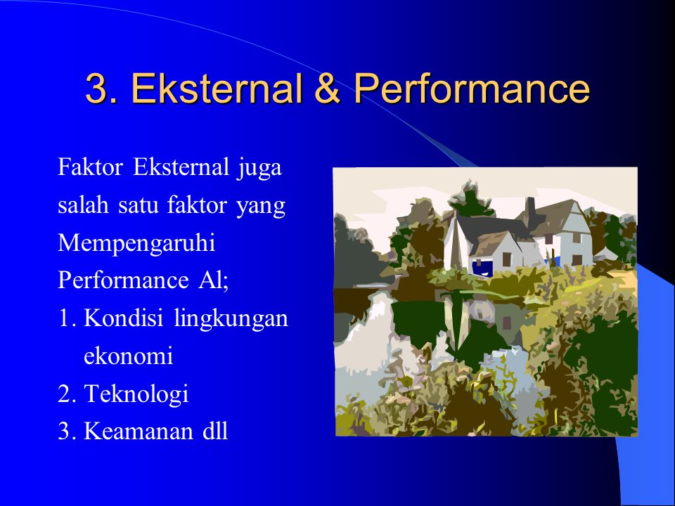 3. Eksternal & Performance