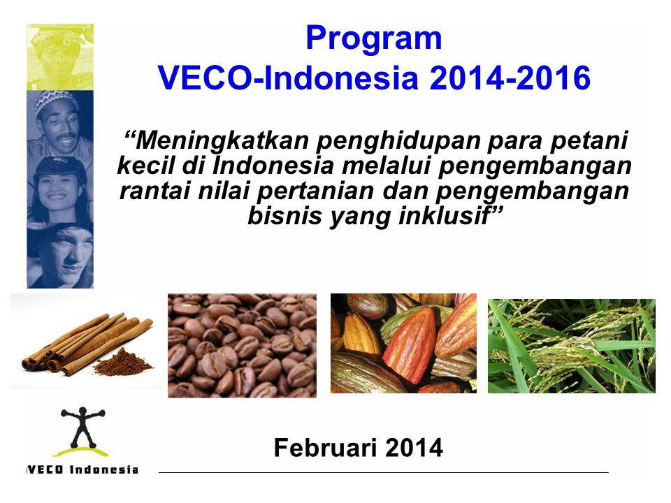 Program VECO-Indonesia 2014-2016