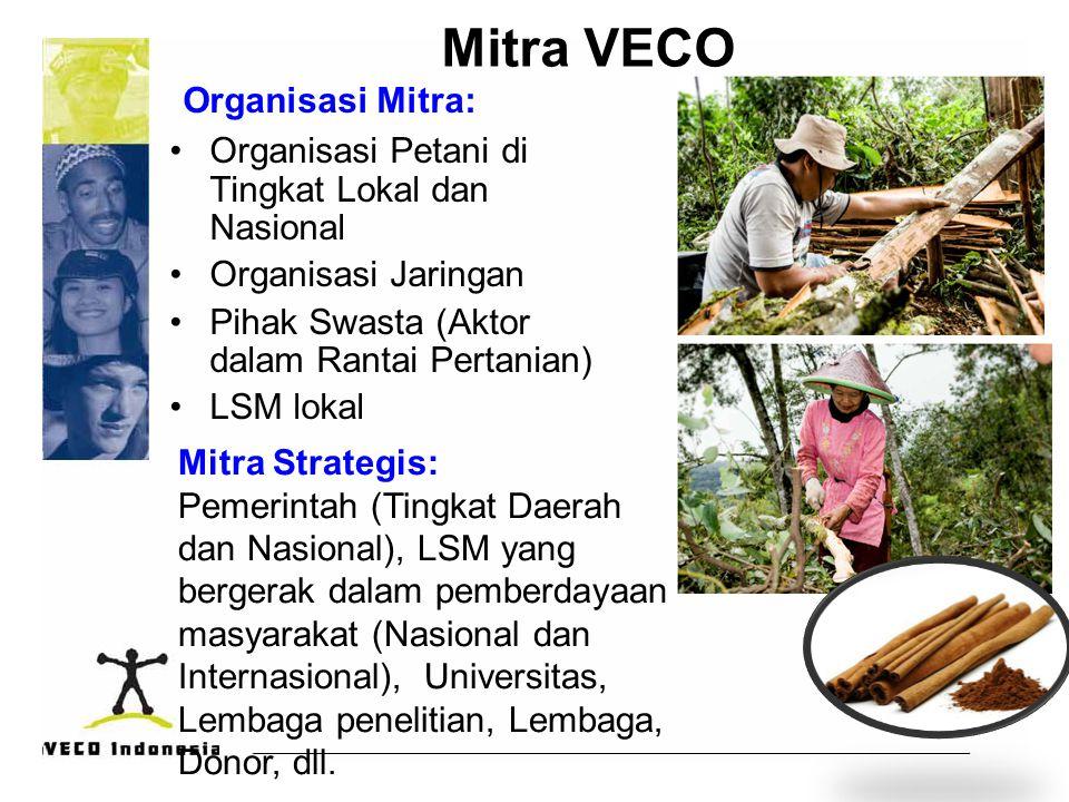 Mitra VECO Organisasi Mitra: