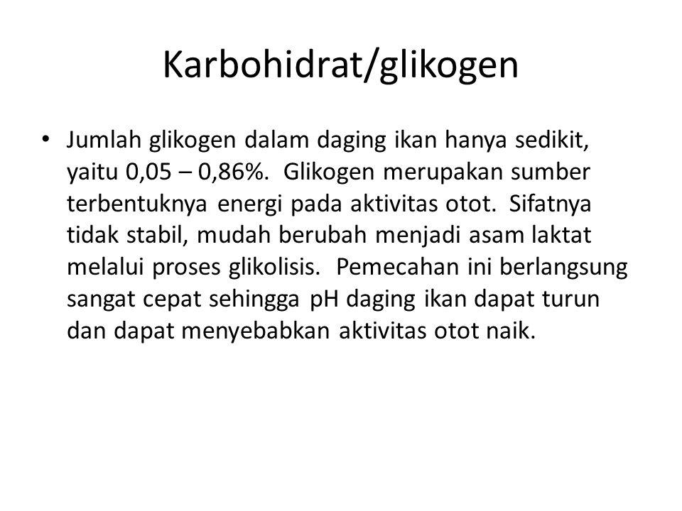 Karbohidrat/glikogen