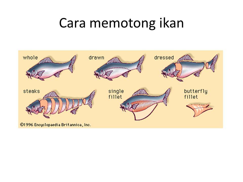 Cara memotong ikan