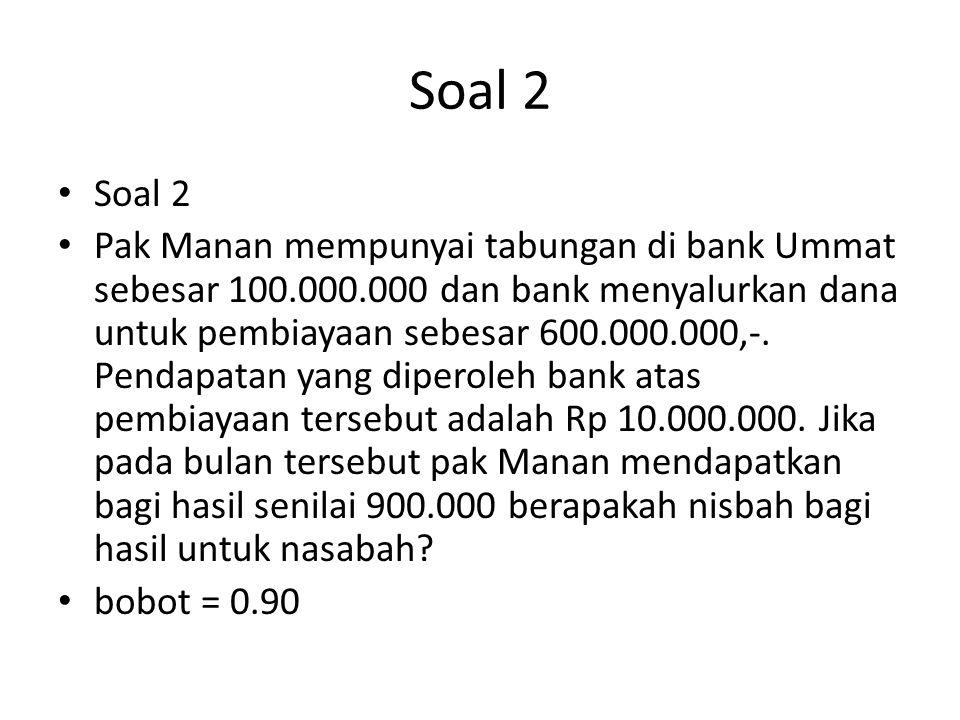Soal 2 Soal 2.