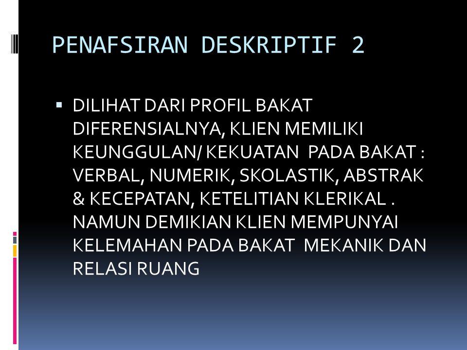 PENAFSIRAN DESKRIPTIF 2