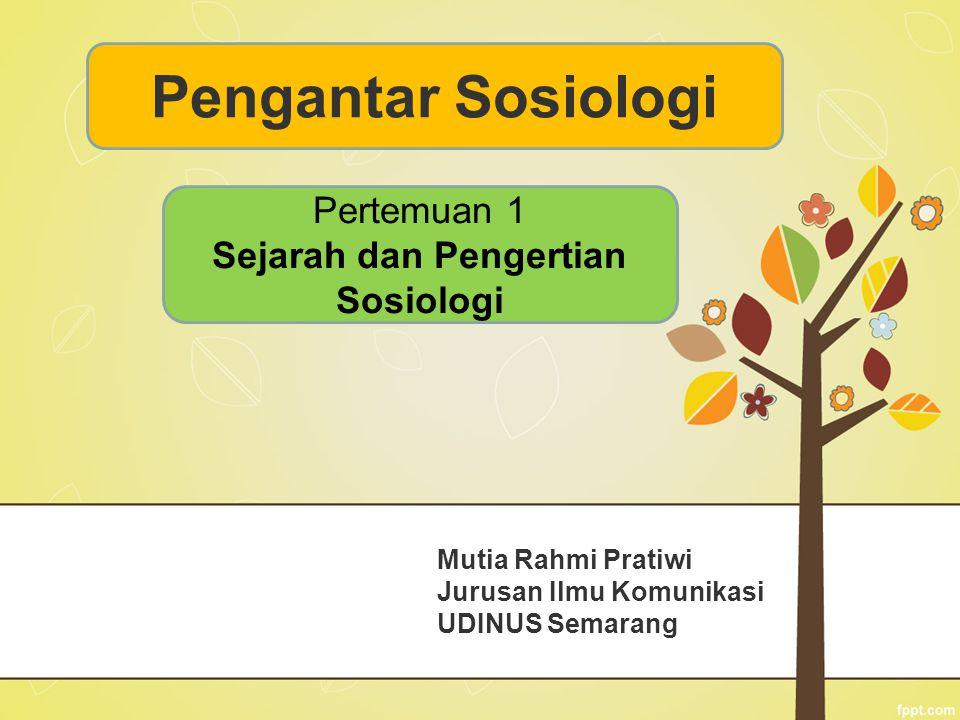 Mutia Rahmi Pratiwi Jurusan Ilmu Komunikasi UDINUS Semarang