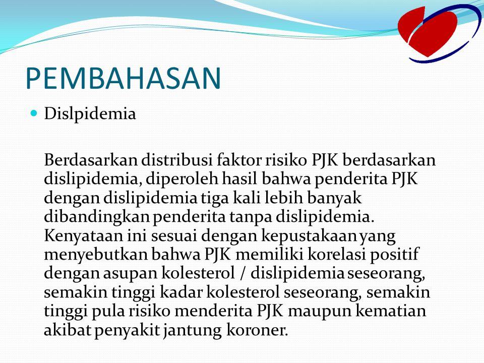 PEMBAHASAN Dislpidemia