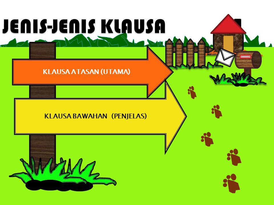 KLAUSA BAWAHAN (PENJELAS)