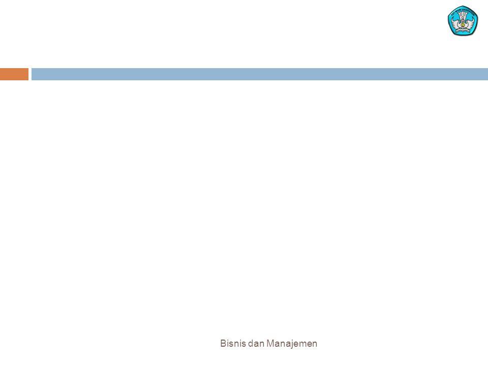 Bisnis dan Manajemen