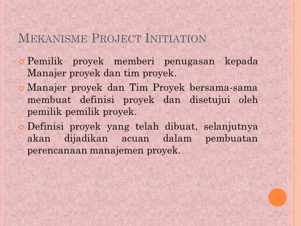 Mekanisme Project Initiation