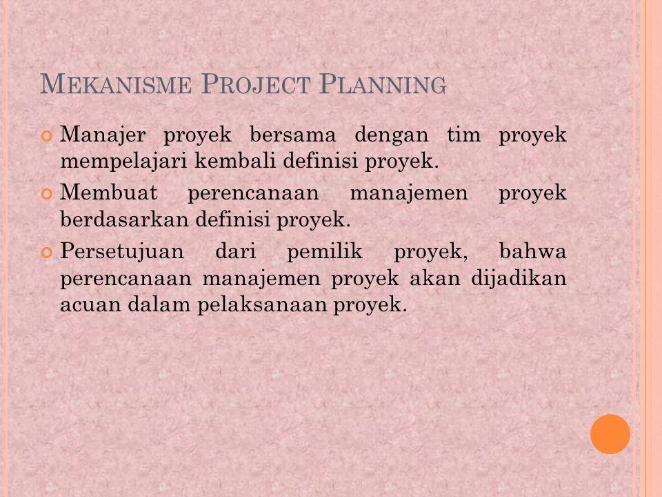 Mekanisme Project Planning
