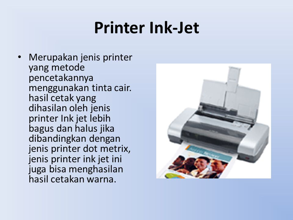 Printer Ink-Jet