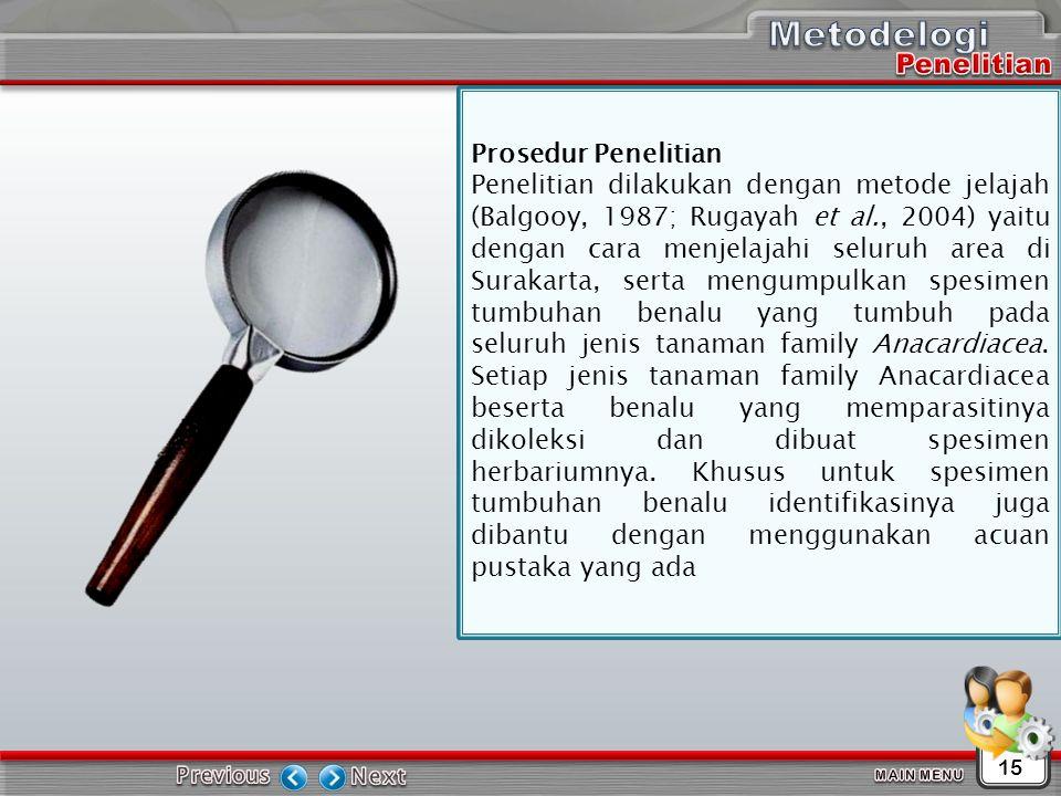 Metodelogi Penelitian Prosedur Penelitian