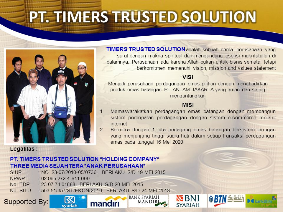 PT. TIMERS TRUSTED SOLUTION