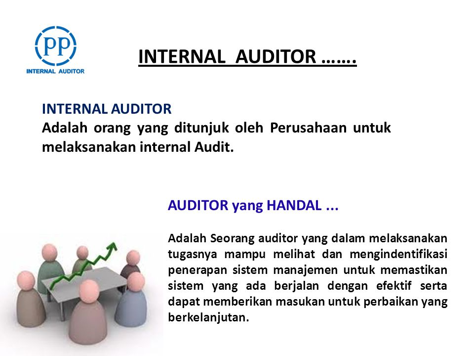 INTERNAL AUDITOR ……. INTERNAL AUDITOR
