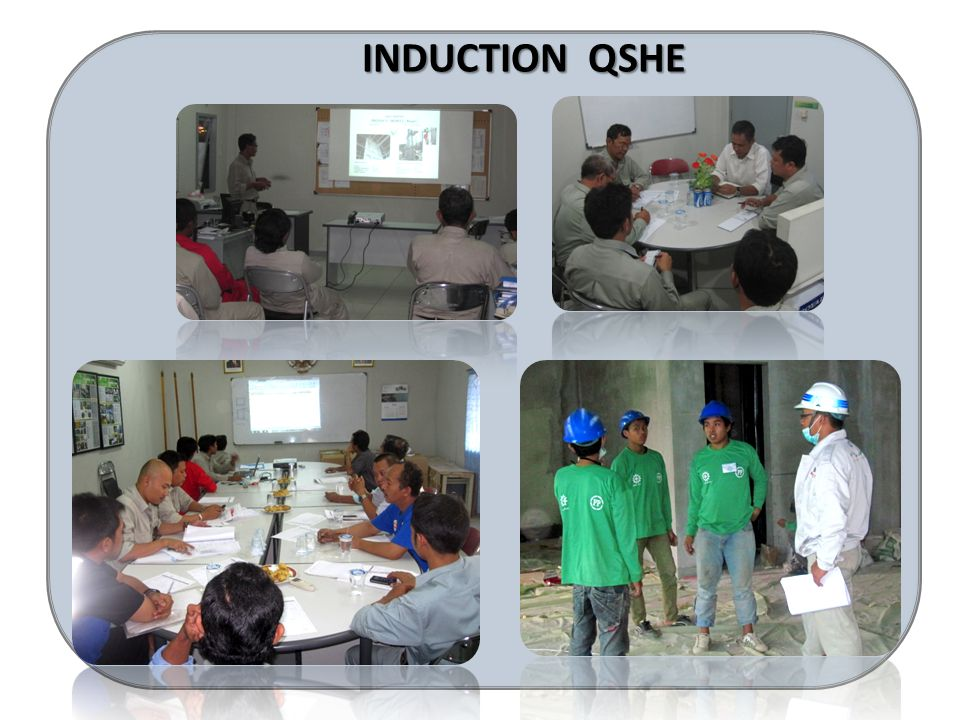 INDUCTION QSHE