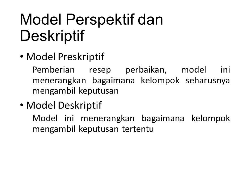 Model Perspektif dan Deskriptif