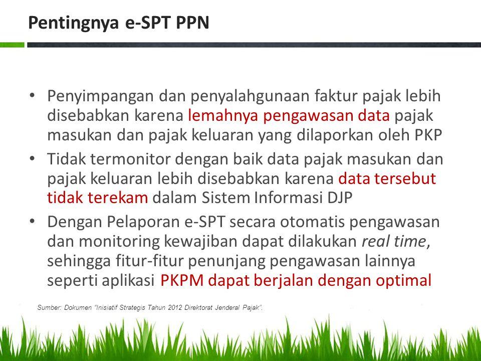 Pentingnya e-SPT PPN