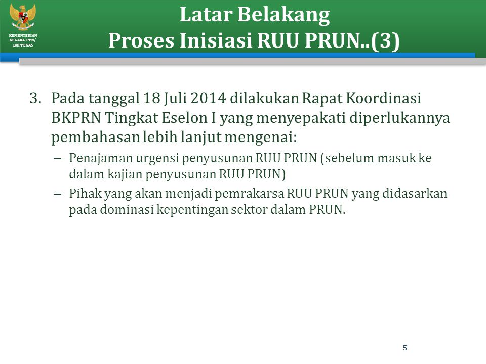 Latar Belakang Proses Inisiasi RUU PRUN..(3)