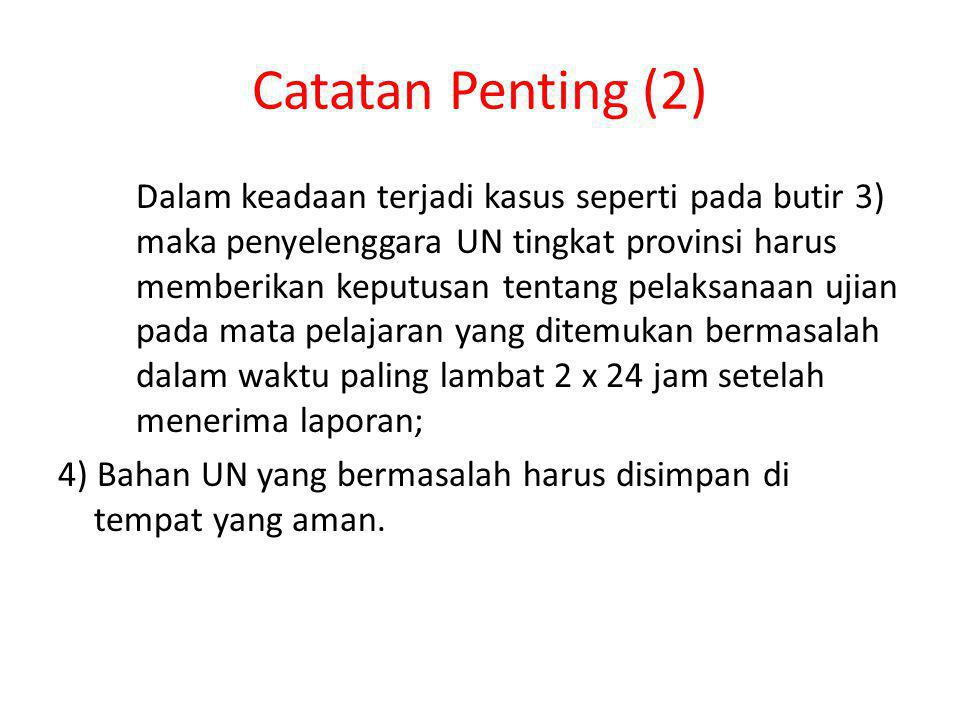 Catatan Penting (2)