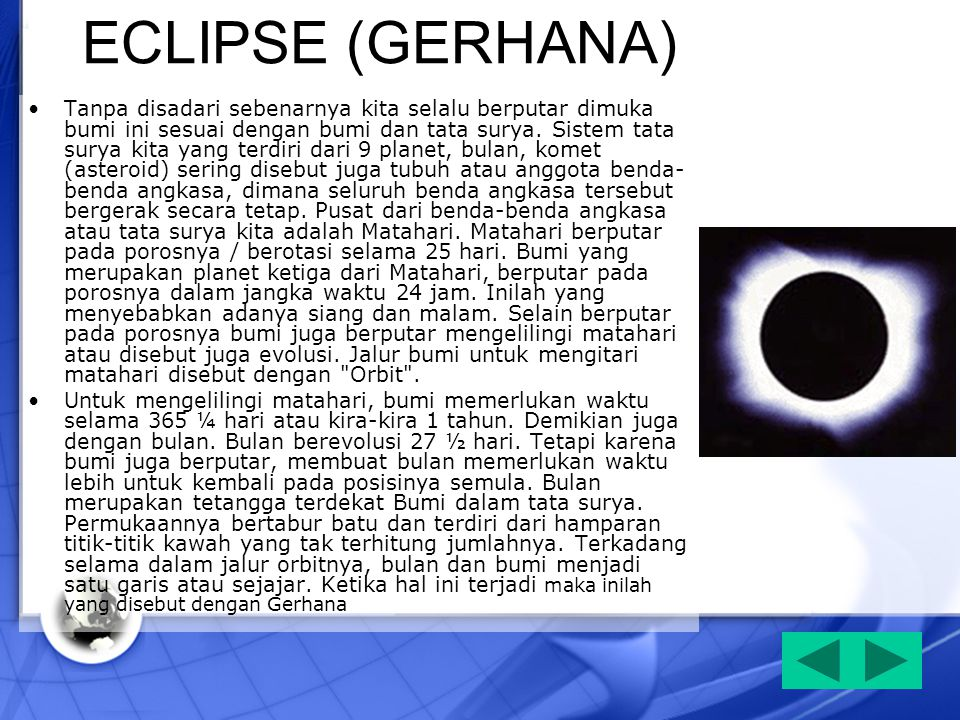 ECLIPSE (GERHANA)
