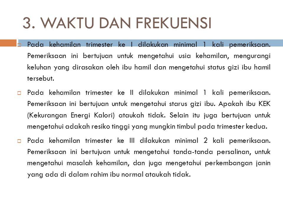 3. WAKTU DAN FREKUENSI
