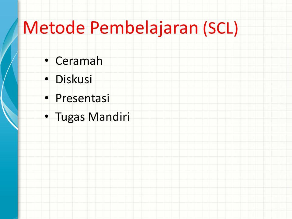 Metode Pembelajaran (SCL)