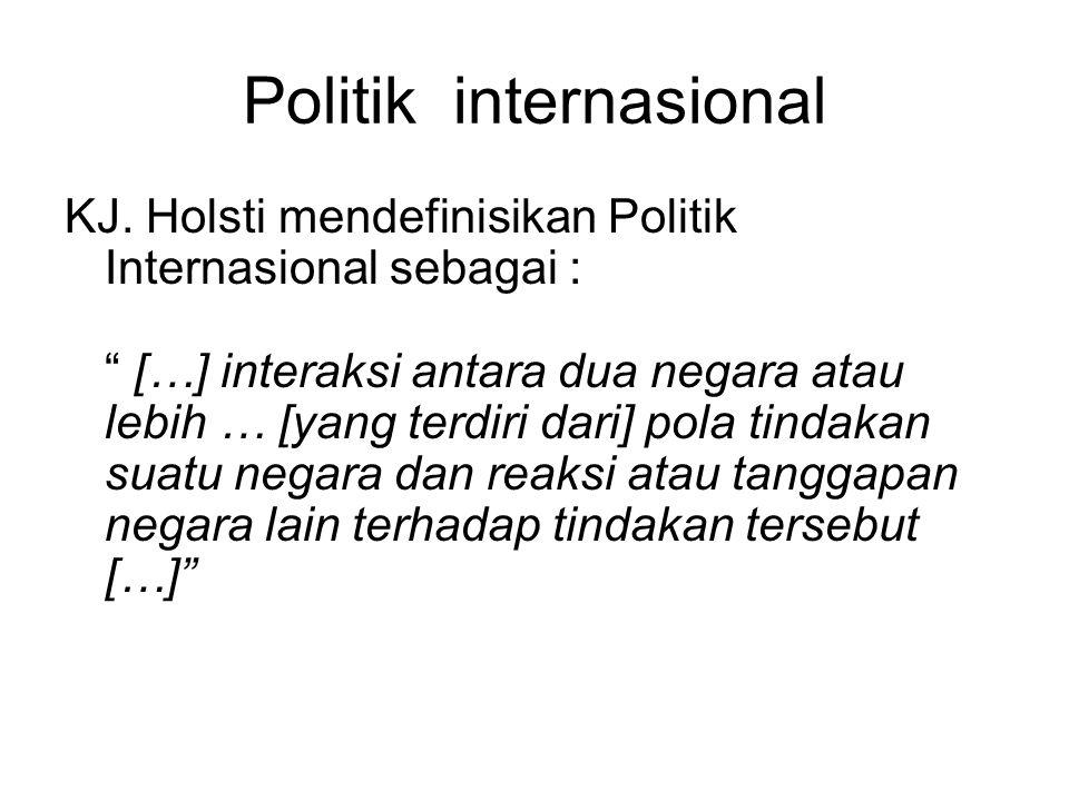 Politik internasional