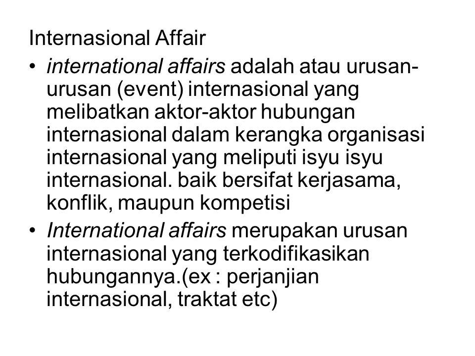 Internasional Affair