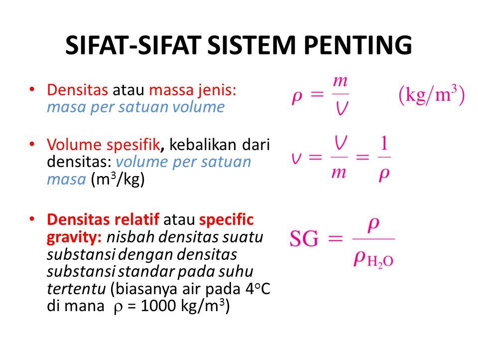 SIFAT-SIFAT SISTEM PENTING