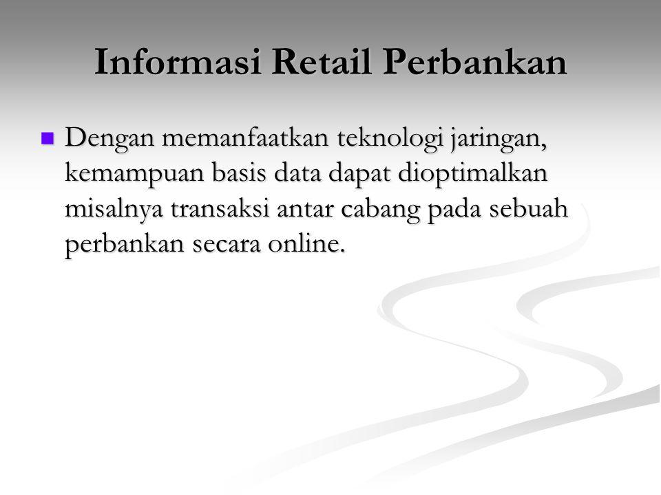 Informasi Retail Perbankan