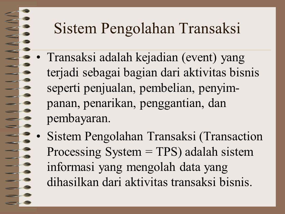 Sistem Pengolahan Transaksi