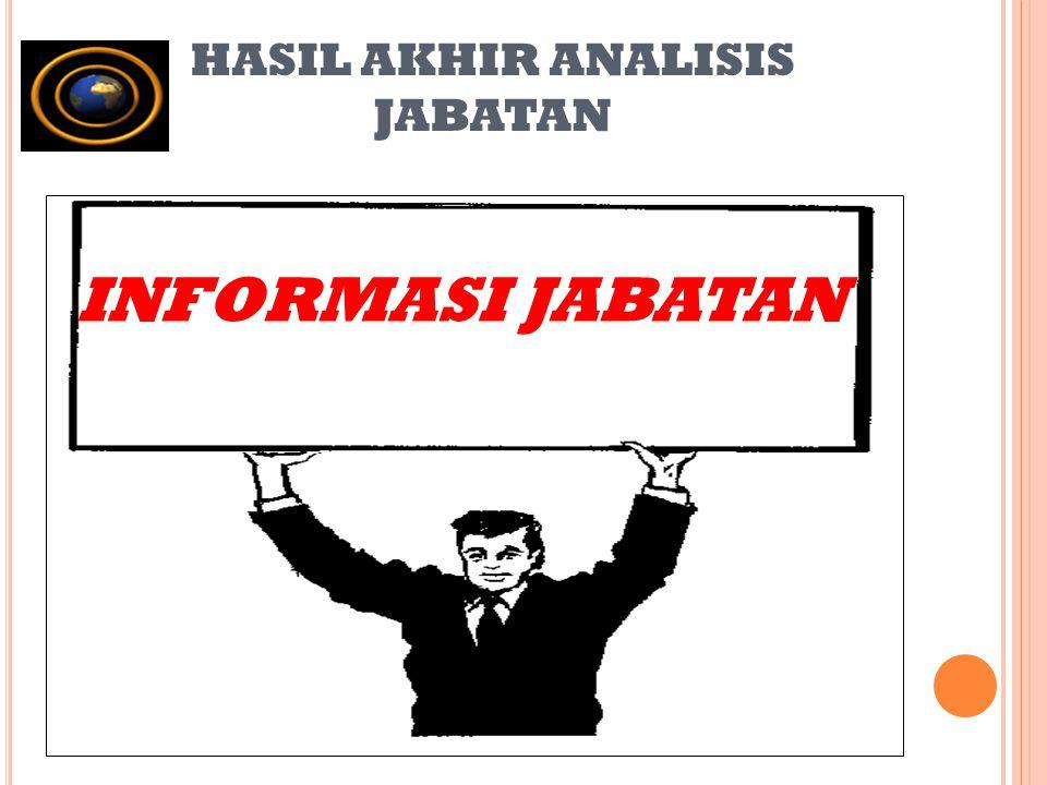 HASIL AKHIR ANALISIS JABATAN