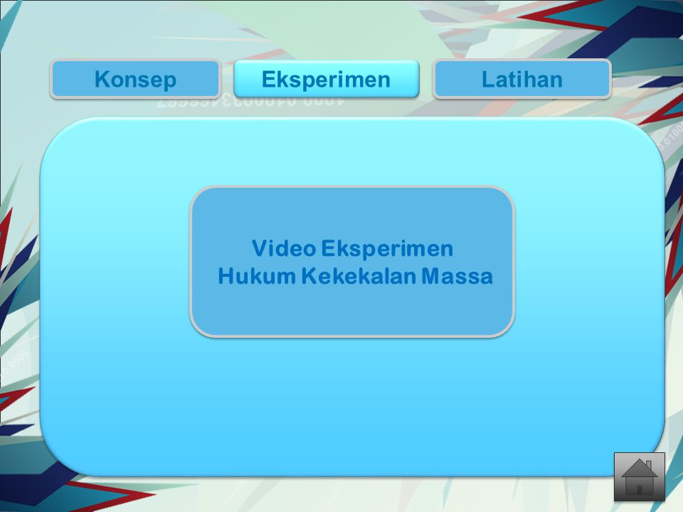 Konsep Eksperimen Latihan Video Eksperimen Hukum Kekekalan Massa
