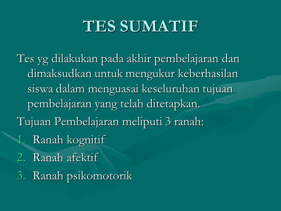 TES SUMATIF