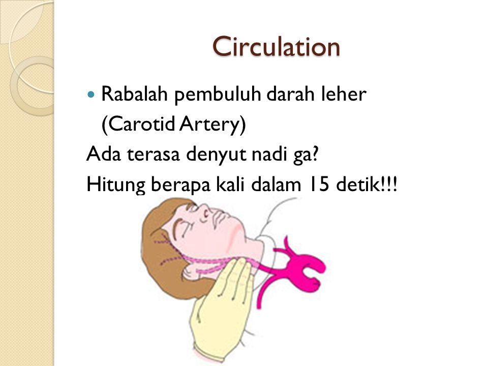 Circulation Rabalah pembuluh darah leher (Carotid Artery)