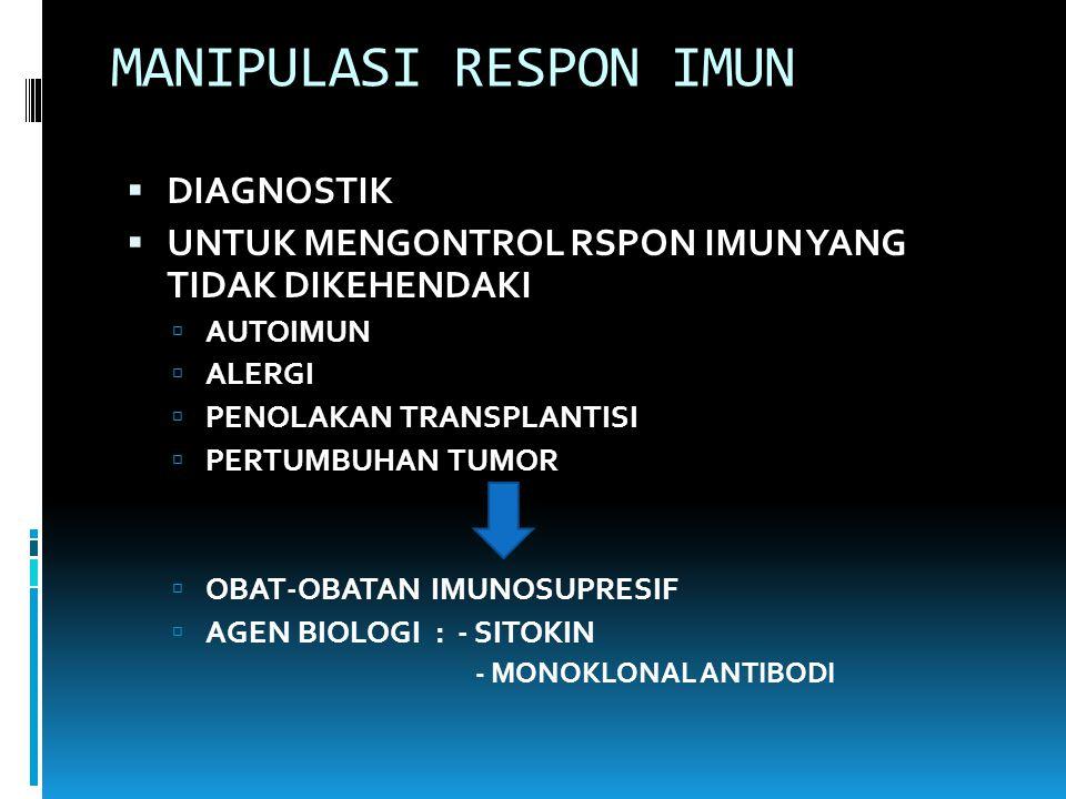 MANIPULASI RESPON IMUN