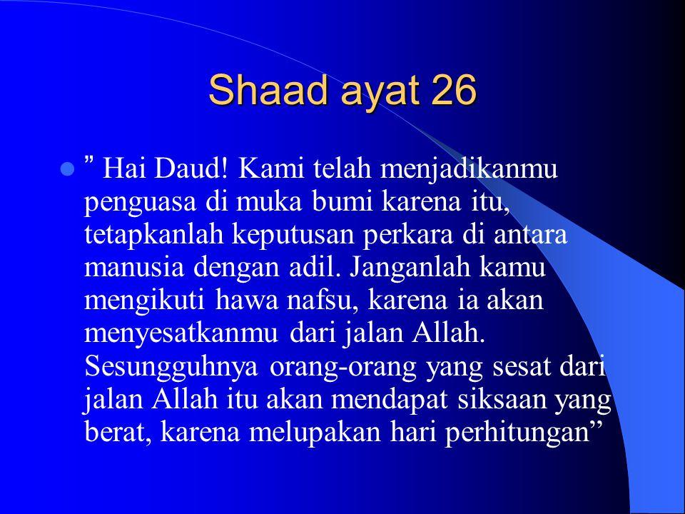 Shaad ayat 26