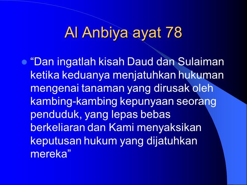 Al Anbiya ayat 78