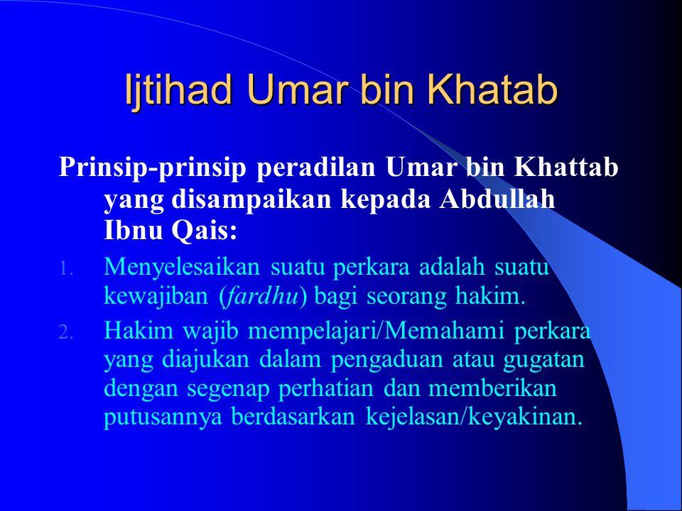 Ijtihad Umar bin Khatab