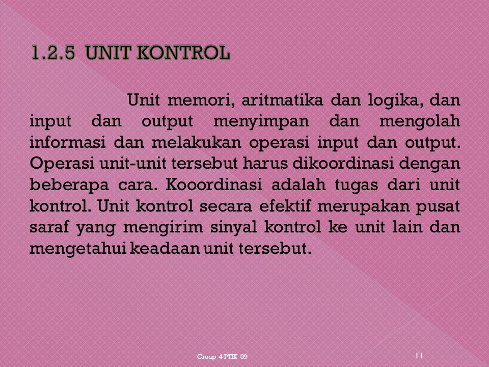 1.2.5 UNIT KONTROL