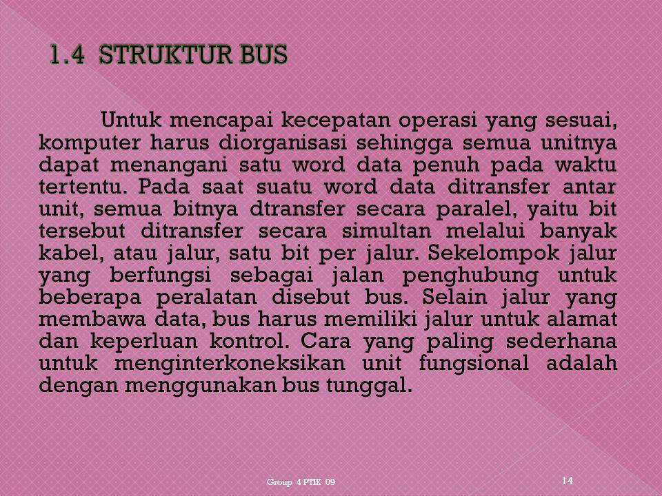 1.4 STRUKTUR BUS