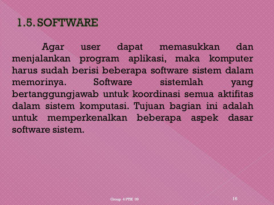 1.5. SOFTWARE