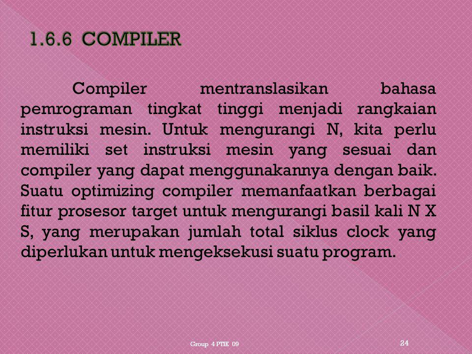 1.6.6 COMPILER