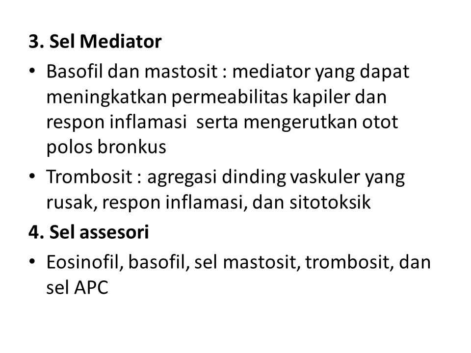 3. Sel Mediator