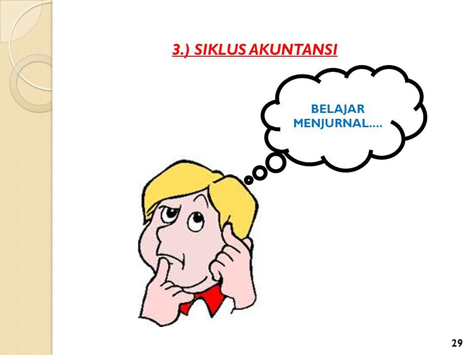 3.) SIKLUS AKUNTANSI BELAJAR MENJURNAL....