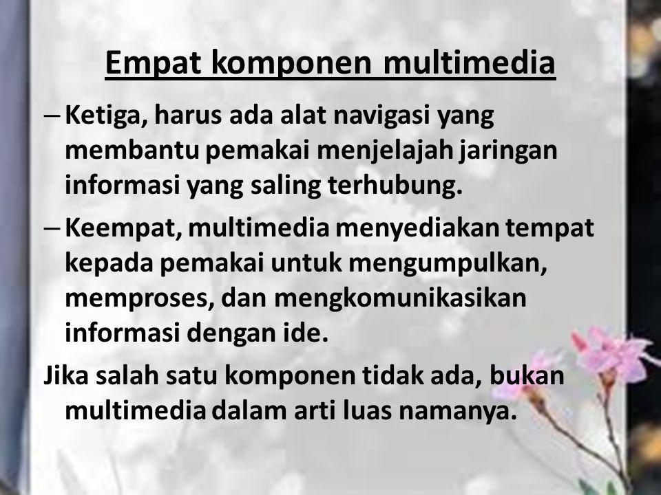 Empat komponen multimedia