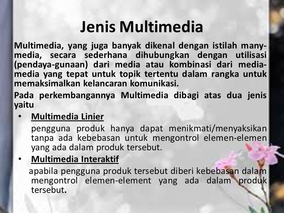 Jenis Multimedia