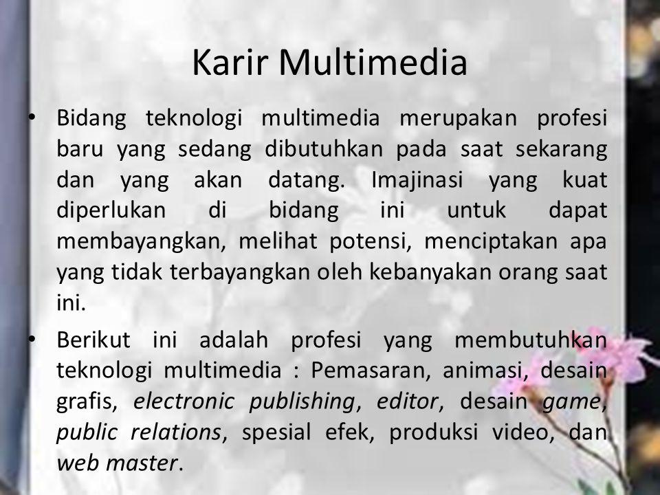 Karir Multimedia