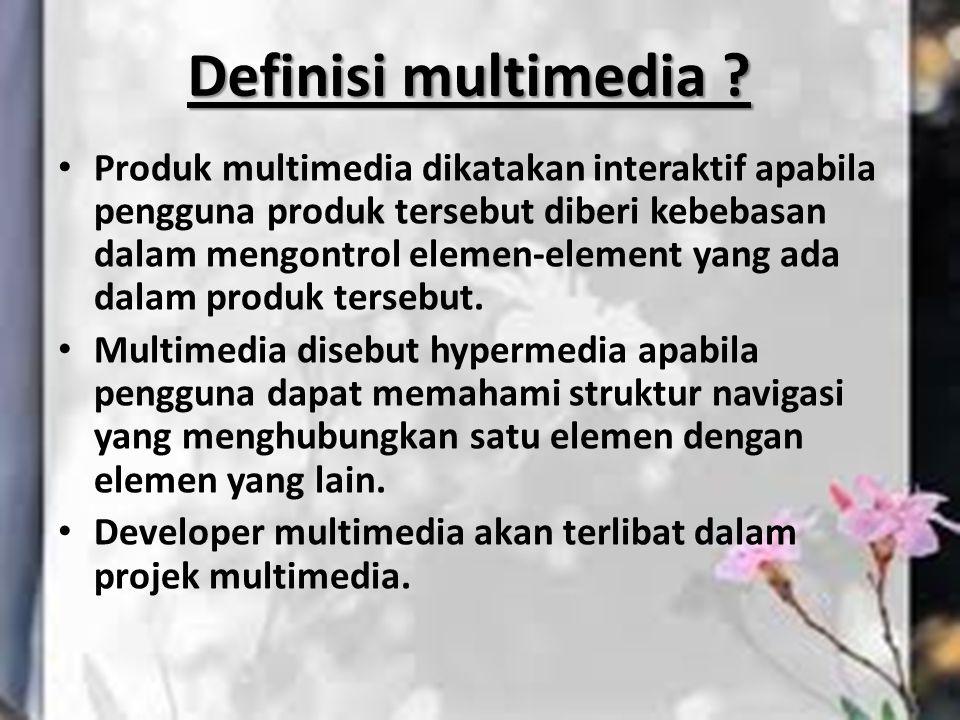 Definisi multimedia